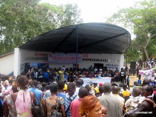 – Collation des grades académiques à l'université de Kinshasa (Unikin)