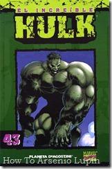P00043 - Coleccionable Hulk #43 (de 50)