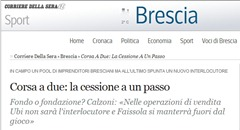 corriere della sera brescia