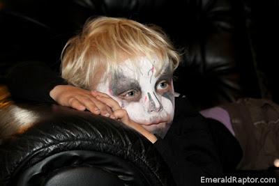 Vampyrsminket barn