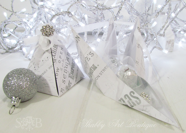 Shabby Art Boutique Pyramid Box 4