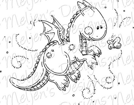 Meljens Designs Dragons Little Friend