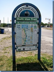 7809 Welland Canals Parkway -  St. Catharines -  Welland Canals Parkway Trail sign