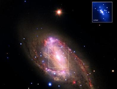 galáxia espiral NGC 3627