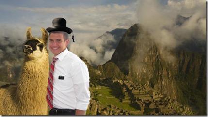 Tyler in Peru