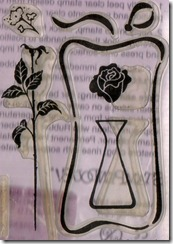CLEAR FLORAL SMALL
