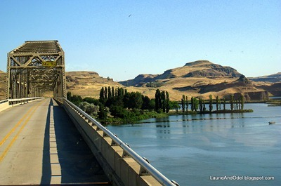 Crossing the Snake River in WA