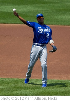 'Alcides Escobar' photo (c) 2012, Keith Allison - license: http://creativecommons.org/licenses/by-sa/2.0/