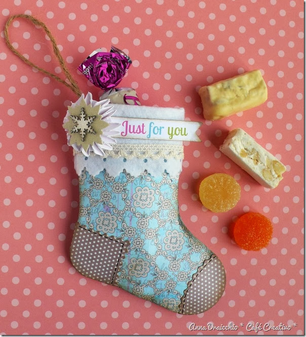Sizzix Big Shot - christmas stocking (1)