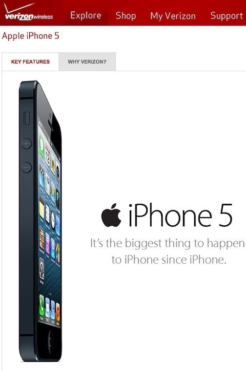 iphone 5 con Verizon