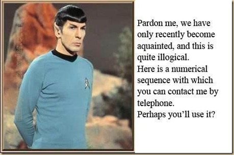 spock call me maybe
