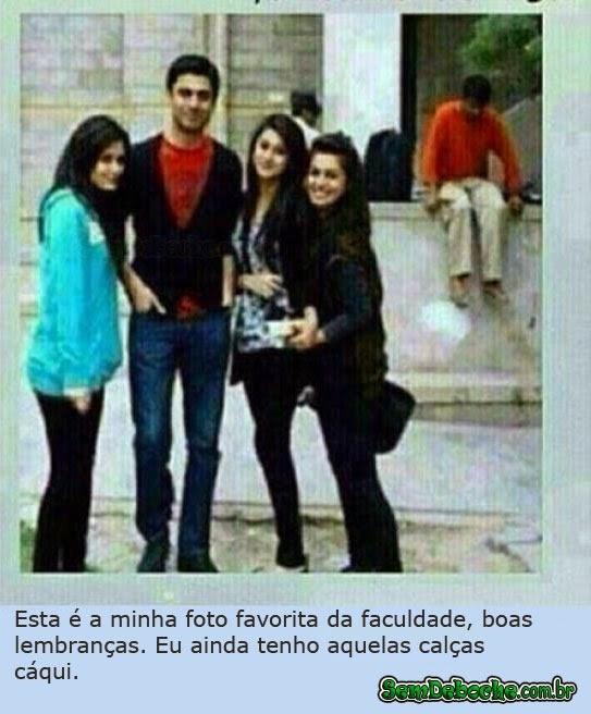 MINHA FOTO FAVORITA DA FACULDADE!