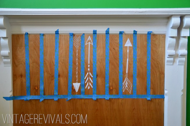 Hand Drawn Arrow How To @ Vintage Revivals