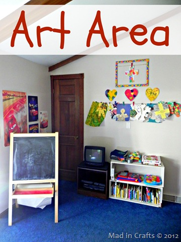 toy room art area