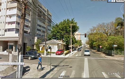 Rua Ararangua - antes