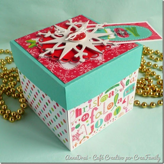 cafe creativo - Tutorial - Christmas Explosion Box