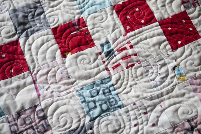 paisley flower quilting