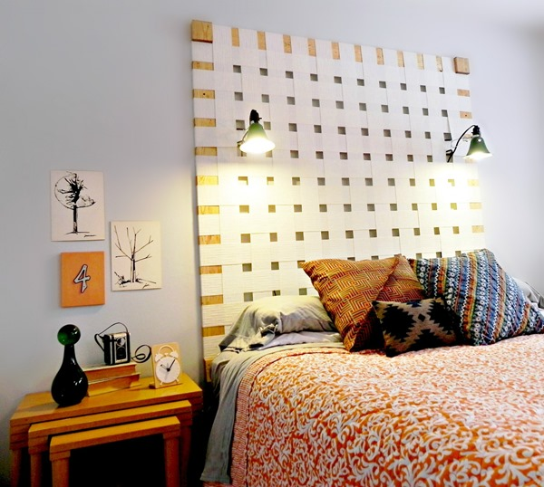 Upcycling Challenge Headboard