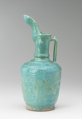 Ewer | Origin:  Unclassified | Period: 1200-1300 | Details:  Not Available | Type: Ceramic | Size: H: 38.7  W: 17.3  cm | Museum Code: S1987.84 | Photograph and description taken from Freer and the Sackler (Smithsonian) Museums.