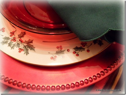 A Walk in the Countryside: Christmas Tablescape