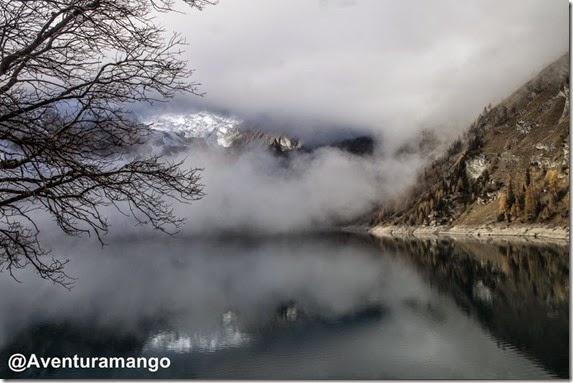 Lago da Barragem de Zeuzier