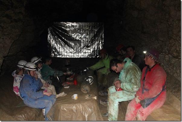 табір спелеологів