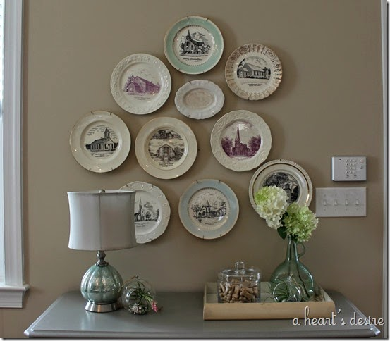 Wall Church Plates