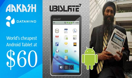 Aakash Tablet – World's cheapest tablet Ubislate7