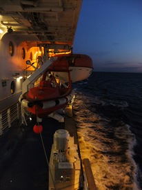 M/S Superstar, Golfo de Finlandia