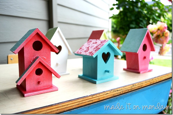 Painted Birdhouses 3