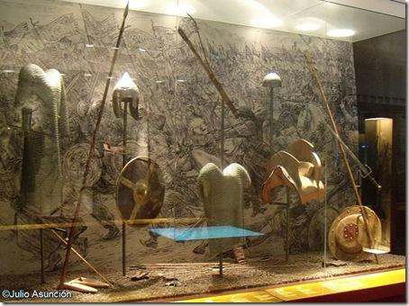 Reproducción de armas utilizadas en La Batalla de Las Navas de Tolosa