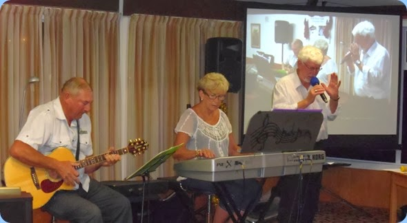 Kevin and Jan Johnston joined by Peter Wilton on vocals gave a great foot tapping performance to cap-off our Christmas Special Club Night.
