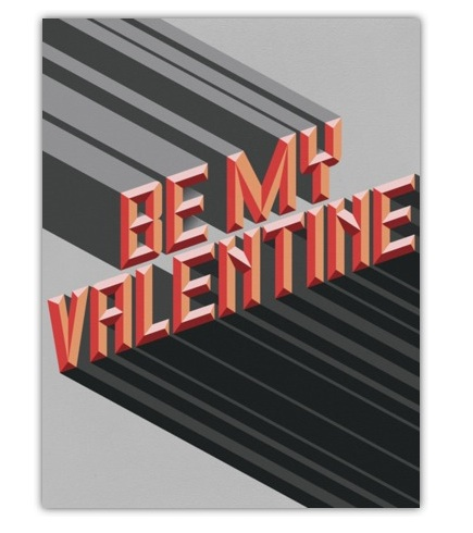 Another Paperless Post Valentine's -- this is such a fun '80s inspired card.