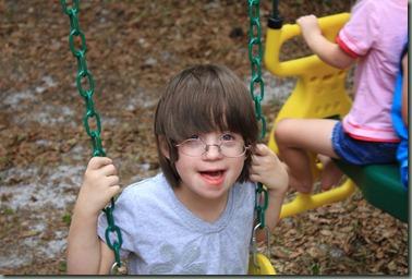 Aleksa swinging 2  06-2011