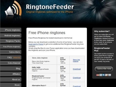 RingtoneFeeder