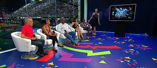"""""""Estúdio Globeleza"""" - Foto: Reprodução/TV Globo"""