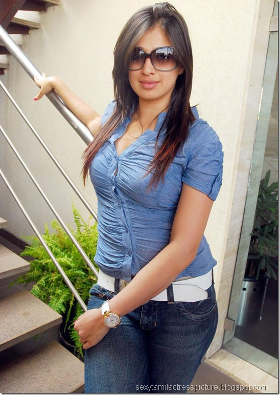 lakshmi_rai_tight_jeans_and_shirt_stills_03
