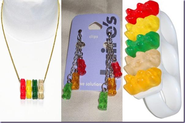 Corrente-Brincos-Anel-Gummy-Bear-