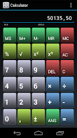 Screenshot of Simple Calculator