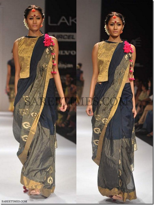Vaishali_S_Black_Saree