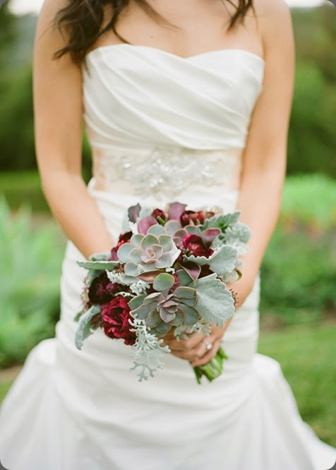 bouquet-with-succulents-blue-magnolia blue magnolia events dot com and  Patrick Moyer photo