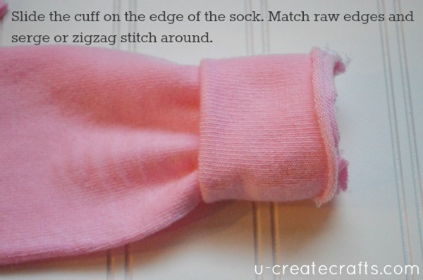Baby Leg Warmers Tutorial 15