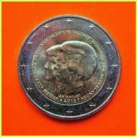 2 Euros Paises Bajos 2013
