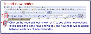 insert new nodes