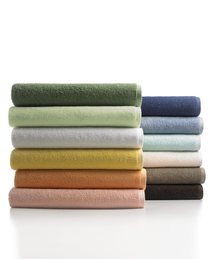 Always keep towels in the back of the car during the summer. You'll be thanking me when you see that crystal clear lake on a 100 degree day. Martha Stewart Collection (macys.com)
