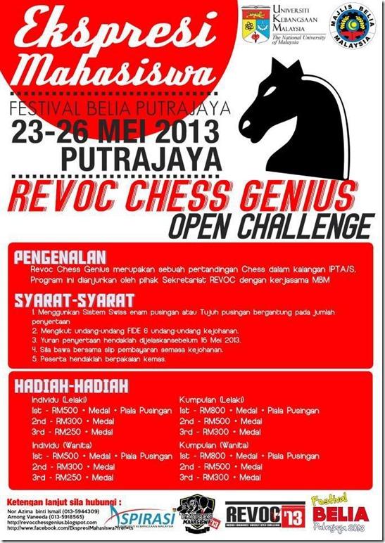 Revoc Chess Putrajaya 2013