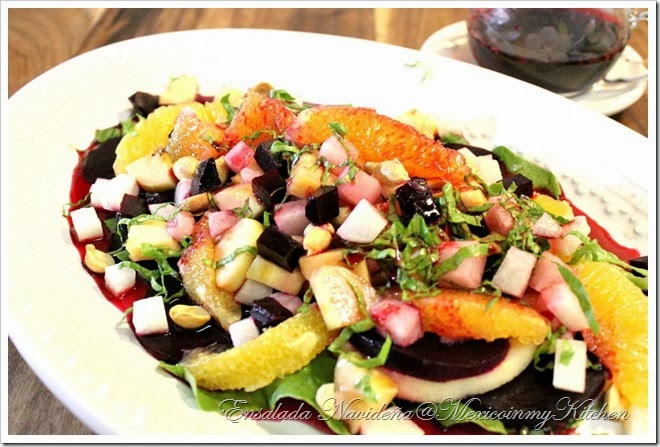 Ensalada Navideña | Mexican Christmas eve Salad