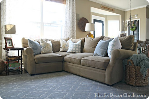 This sectional was probably our biggest furniture purchase ever u2013 well it was for one item. We spent just as much for a sofa and love seat (that obviously ... : arhaus sectional - Sectionals, Sofas & Couches