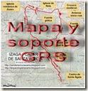 Mapa y soporte GPS - ruta Galar - castro Santitxusti - Guenduláin