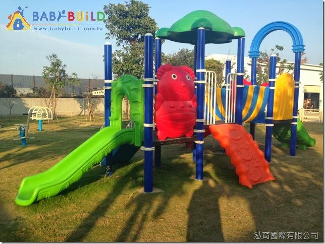 兒童遊具新增設施完工